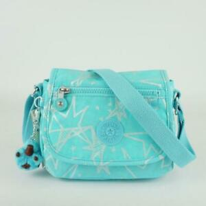 KIPLING SABIAN Mini Shoulder Crossbody Bag Starry Vision Teal