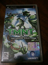 TMNT TARTARUGHE NINJA - UBISOFT- CON MANUALE -  SONY PSP - ITALIANO