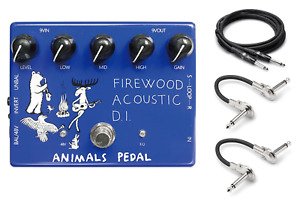 New Animals Pedal Firewood Acoustic DI Guitar Effects Pedal