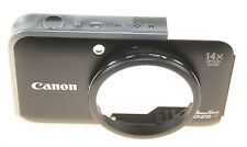 CANON POWERSHOT SX 210 IS FRONT COVER CASE BLACK NEW GENUINE