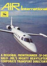 AIR ENTHUSIAST INTERNATIONAL MAGAZINE 1983 JUN - MIL MI-26, SAAB-FAIRCHILD 340