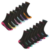 Womens Ladies Novelty Socks 7 Pairs Pack Multipack Days Of The Week COTTONIQUE