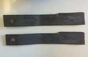 Set of 2 Rotary Mower Blades for Bush Hog 6' rotary cutters 7556/7556BH
