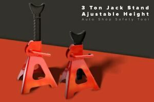 New Essupplier Strong 3 Ton Steel Jack Stand with Adjustable Height