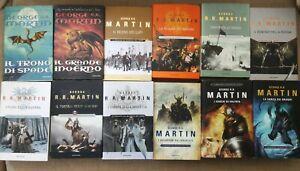 Le cronache del ghiaccio e del fuoco (R.R.MARTIN)prima edizione completa