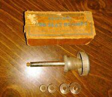 Vintage Keystone Bibb Seat Reamer With4 Faucet Reaming Cuttersdressers Iob Vgc