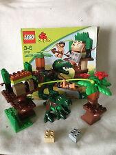 LEGO Duplo Dinowelt 5597 - großer T-Rex grün - Steinzeit - Zoo - komplett &OVP!