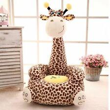 Cartoon Kids Seats Sofa Comfortable PP Cotton Giraffe Small Baby Portable Chair