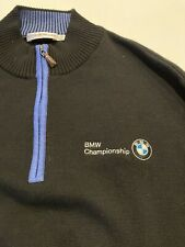 Peter Millar Bmw Championship 1/4 Zip Men's Golf Sweater Merino Large