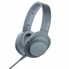 Sony Mdr-H600A h.ear on 2 Hi-Res Audio Stereo Headphones Moonlit Blue New