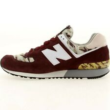 NEW NEW BALANCE M576CM4 BURGUNDY/CAMO SIZE 13 MADE IN USA MSRP $189.99