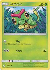 4X Caterpie (1/149) -Sun and Moon -Nm- Common Pokemon