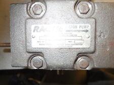 RACINE PISTON PUMP MODEL PVP-PSAF 06 HRD FMG# 610789