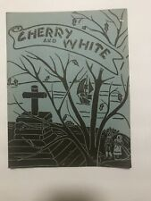 New ListingVintage November 1943 Senior High School Williamsport Pa Cherry & White Book