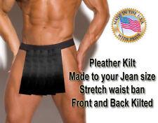 Sexy Gladiator Kilt costume Warrior Greek Kilt Made 2 Jean size