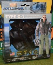 Blue Box Bbi 1/6 escala nos Aviador Tipo G-1 Chaqueta de vuelo para figuras DRAGON DID