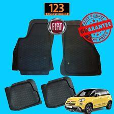 SET TAPPETINI AUTO IN GOMMA PER FIAT 500L 2012> QUALITA' TOP