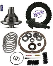 "Ford 8"" 3.80 Ring and Pinion 28 Spline Traclok Posi Master Kit Yukon Gear Pkg"