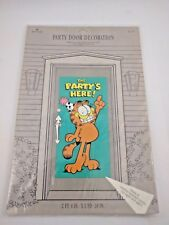 Vintage Garfield Hallmark Party Door Decoration