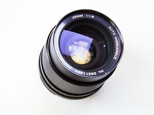 Vivitar Komine 35mm f1.9 Wide Angle Prime Lens M42 Mount