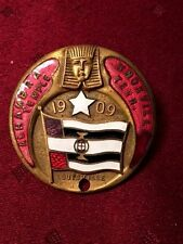 Masonic Badge Alhambra Temple 1909 Knoxville Tenn Whitehead & Hoag REDUCED 1 DAY