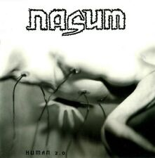 NASUM - Human 2.0 LP - Grindcore Death Metal - Black Vinyl - NEW COPY