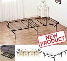 Twin Size Platform Bed Frame Mattress 14 Foundation Portable Folding Kids Beds