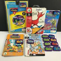 Lot of 12 Leap Frog LeapPad Learning System Homeschool Education Cartridges