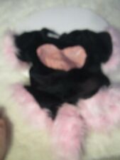 Build A Bear Cat Costume clothes Pink Tail Pink Heart