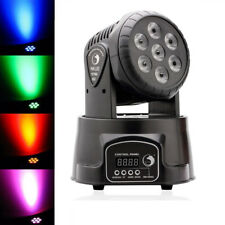 U`King 7 LED RGBW Moving Head Light DMX Stage Light DJ Disco Party Wedding Show