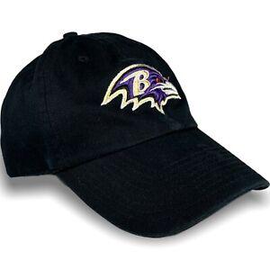 Baltimore Ravens NFL Football Hat Cap 47 Brand OSFA Black Strap back