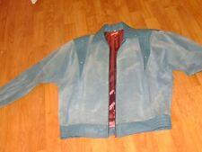 Veste bleu outremer CUIR 20 ANS taille 42