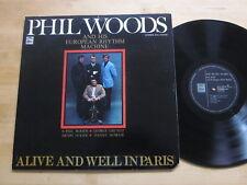 Phil Woods European Rhythm Machine Alive & Well In Paris LP EMI Odeon Japan VG++