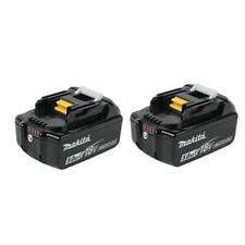 2 X Makita 5.0ah 18V Volt BL1850B LXT Lithium-Ion Battery with LED Indicator