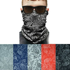 3-12Pcs Lot Face Neck Mask Cover Tube Head Bandana Paisley Headband Guard Scarf