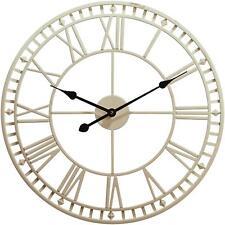 Large Outdoor Garden Wall Clock Weatherproof Roman Numerals 60.3cm x H4cm