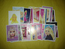 20 barbie collection Autocollants Fête Sac Stocking Filler (pour Sticker Album)
