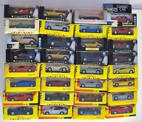 VINTAGE DIECAST CLASSIC SPORTS CARS - CHOOSE FROM LIST ALL WITH PHOTO'S LOT 17