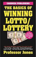 The Basics of Winning Lotto/Lottery by Prof. Jones (2015, Paperback)