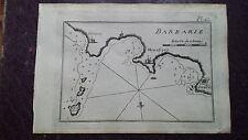 "1780 Roux Meucci: Mapa Bahia ""Pl. 42 Barbarie"" Africa Ginieni Monestier Souffe"