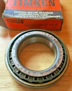 18690 - 18620 New Timken Tapered Roller Bearings  1.8125x3.125x0.6875""