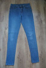 Denim   Co Jeans Hose Gr. 38  12 blau Skinny Röhre Stretch 5- a594730eab