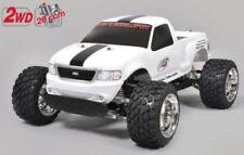 Modellini di auto e moto radiocomandati camion bianco