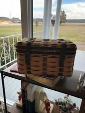 Longaberger Collectors Club American Craft Traditions Trunk Basket