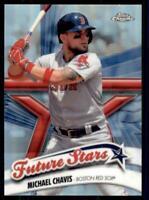 2020 Topps Chrome Future Stars #FS-4 Michael Chavis - Boston Red Sox