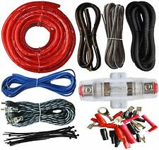 Car Audio Amp Wiring Kit 4 Gauge Cable Wire Installation Amplifier Sound System