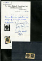 Japanese Occupation of Burma Mint 1942 Pair VF OG NH