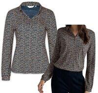 NEW! SEASALT Elmwood 'Little Seeds Galley' Cotton Blend Top Shirt Blouse 8 - 20