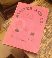 Alister and Co POEMS by D E Stevenson 1940 First ILLUSTRATED Free US Shipping