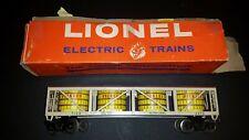 Lionel #6475 Pickle Car with Vats.